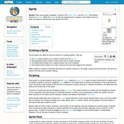 Sprite - Scratch Wiki