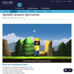 SpriteKit dynamic light tutorial