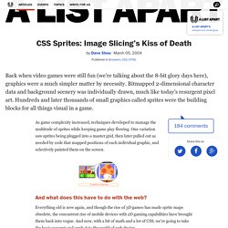 CSS Sprites: Image Slicing's Kiss of Death · An A List Apart Article