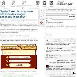 SpritesBaker, booster votre site avec des images encodées en Base64
