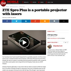 ZTE Spro Plus Release Date, Price and Specs