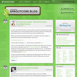 SproutCore Blog