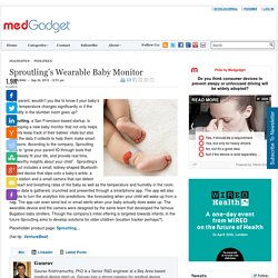 Sproutling's Wearable Baby Monitor