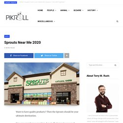 Sprouts Near Me 2020