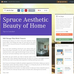 Spruce Aesthetic Beauty of Home