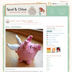 Spud & Chloë & Blog - StumbleUpon