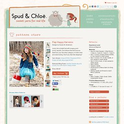 Spud & Chloë — Patterns » Flap Happy Hat