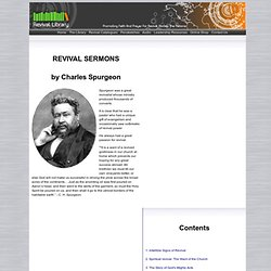 Spurgeon on Revival