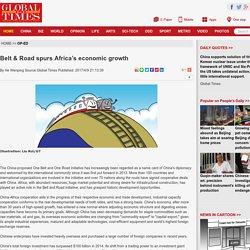 Belt & Road spurs Africa's economic growth