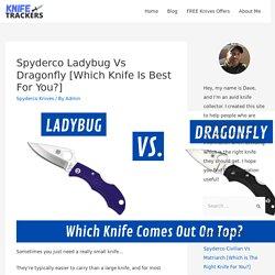 spyderco dragonfly vs ladybug