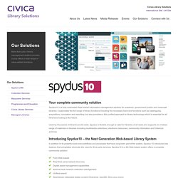 Spydus - Civica Library Solutions