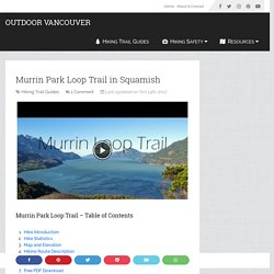 Murrin Park Loop Trail in Squamish
