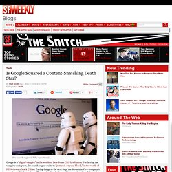 Is Google Squared a Content-Snatching Death Star? - San Francisc