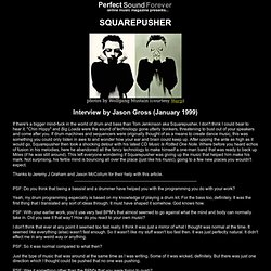 Squarepusher interview