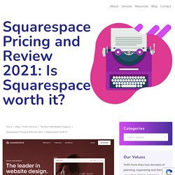 Squarespace Pricing Review 2021