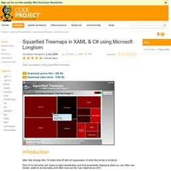 Squarified Treemaps in XAML & C# using Microsoft Longhorn
