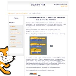 SqueakiMST:InitiationVariables