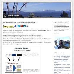 La Squeeze Page : une stratégie gagnante !