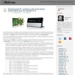Multiroom – Musique et cinéma dans toute la maison » Squeezeslave Pi : système audio multi pièces SqueezeBox basé sur Raspberry Pi