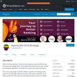 Squirrly SEO 2019 (Strategy) – WordPress plugin