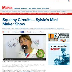 Squishy Circuits – Sylvia's Mini Maker Show