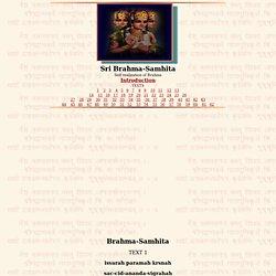 Sri Brahma-samhita