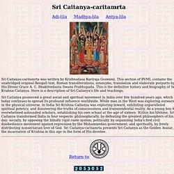Sri Caitanya-caritamrta