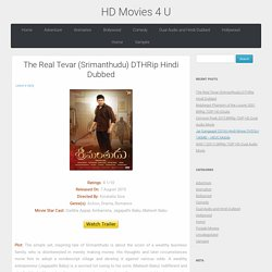 The Real Tevar (Srimanthudu) DTHRip Hindi Dubbed