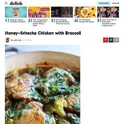 Best Honey-Sriracha Chicken with Broccoli Recipe - How To Make Honey-Sriracha Chicken