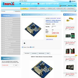 SRW1011 1000m Wireless Transmission Module - emartee.com