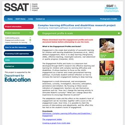 SSATrust - Engagement profile & scale