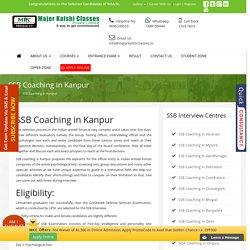 SSB Coaching in Kanpur