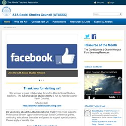 ATA Social Studies Council homepage