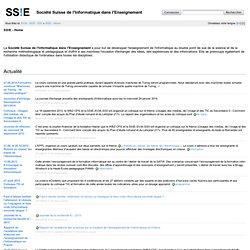 Société Suisse de l'Informatique dans l'Enseignement