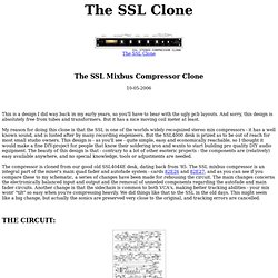 SSL Clone construction page