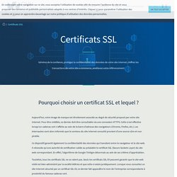 SSL : Sécurisez votre site web avec un certificat
