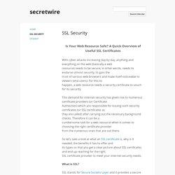SSL Security - secretwire