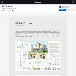 SSPLIT House on Behance