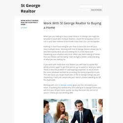 St George Realtor