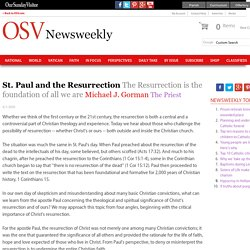 St. Paul and the Resurrection