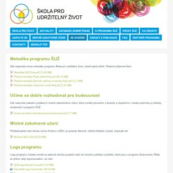 Škola pro udržitelný život