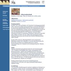 Staatsbibliothek zu Berlin / IKAR: ikar.sbb.spk-berlin.de