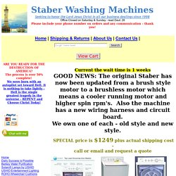 Staber Washing Machines