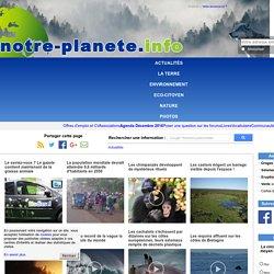 NOTRE PLANETE 26/11/03 Stabilisation des émissions de méthane dans l'atmosphère