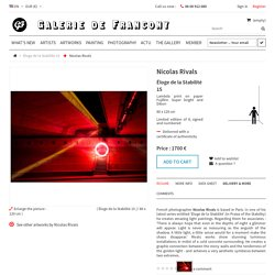 Éloge de la Stabilité 15 - Galerie de Francony