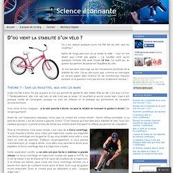 D'où vient la stabilité d'un vélo