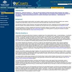 OzCoasts Landform & Stability Maps: Introduction