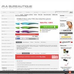 STABILO 5550004 à 4,90 € - STABILO Stylo roller FUN, bleu baby/bleu glacier