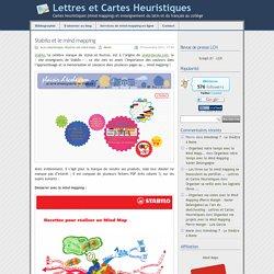 » Stabilo et le mind mapping - Lettres et Cartes Heuristiques