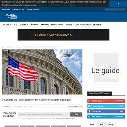 Congrès US : un stablecoin est-il un titre financier classique